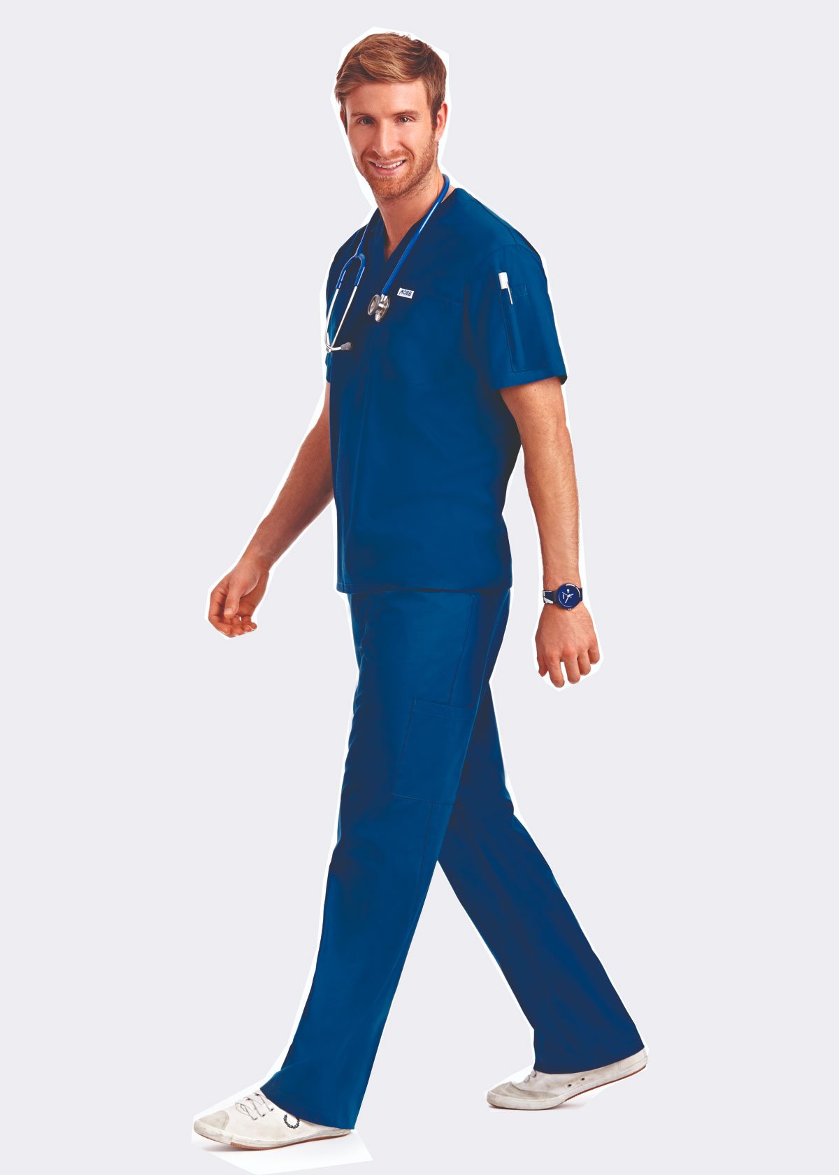 Drawstring Scrub Set Nurse Scrubs Medical Uniforms