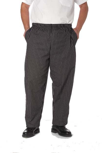 Baggie Chef Pant with Drawstring/Elastic Waist